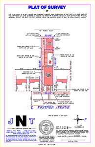 land surveyor, chicago building permit, Chicago land survey, land surveying, ALTA Survey